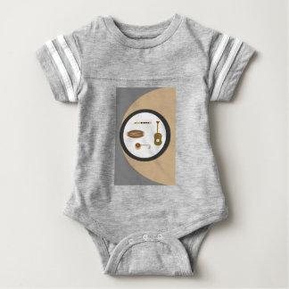 musical instruments baby bodysuit