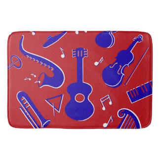 Musical Instruments Bath Mat