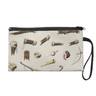 Musical instruments belonging to negro slaves (col wristlet clutch