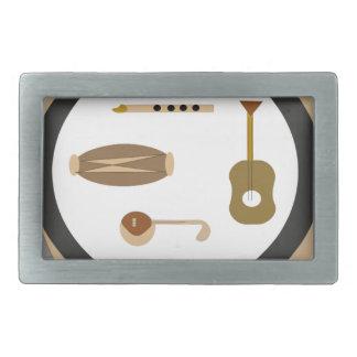 musical instruments belt buckles