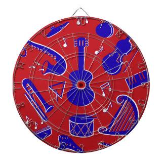 Musical Instruments Dartboard