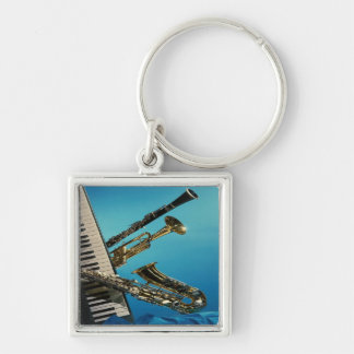 Musical Instruments Key Chain