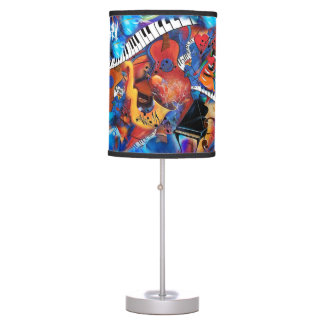 Musical Instruments Lamp Colorful Music Art Lamp