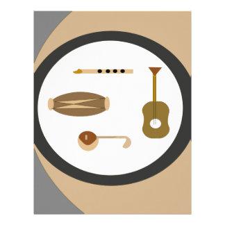 musical instruments letterhead