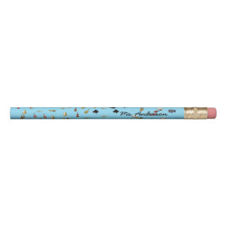 Musical Instruments Pencil
