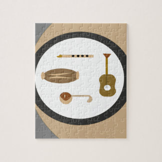 musical instruments puzzle