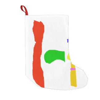 Musical Instruments Small Christmas Stocking