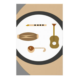 musical instruments stationery