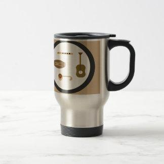musical instruments travel mug