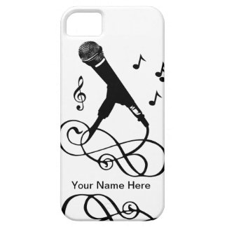 Musical iphone5 singer musician music microphone iPhone 5 covers