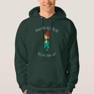 Musical Irish Leprechaun Hoodie