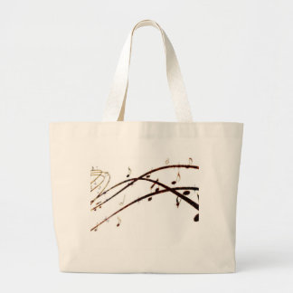 Musical Lava Notes Products Tote Bag