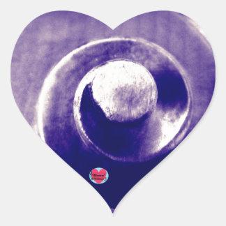Musical Lifetimes Cello Scroll Heart Sticker