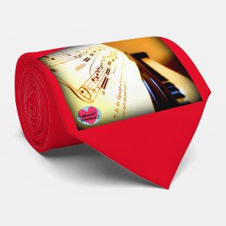 Musical Lifetimes Men's Piano Keys Tie