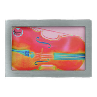 Musical Lifetimes Men's Red Cello Belt Buckle