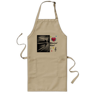 Musical Lifetimes Musical Chef Long Cooking Apron