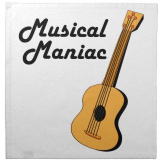 Musical Maniac Cloth Napkin