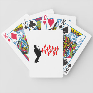 Musical Melody Bicycle Playing Cards