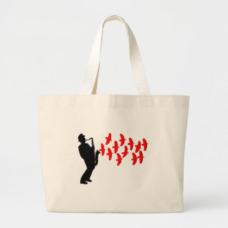 Musical Melody Large Tote Bag