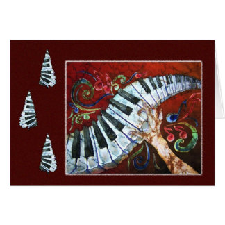 Musical Merriment - Piano Holiday Card