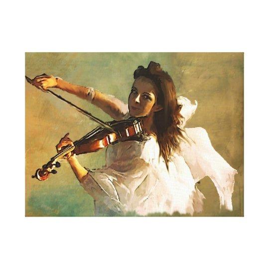 Musical Messanger Canvas Print