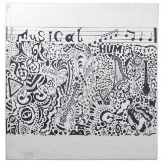 Musical Napkin