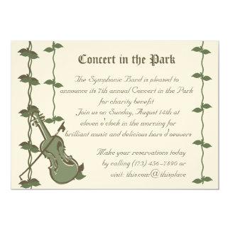 Musical Nature/ Violin Card