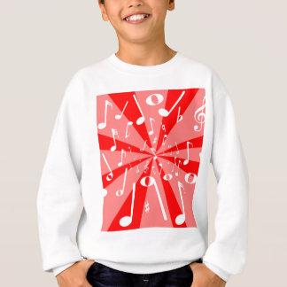 Musical Noise Background Sweatshirt