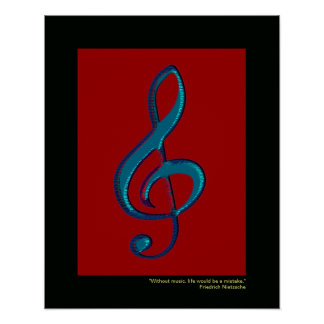 musical note decor walls