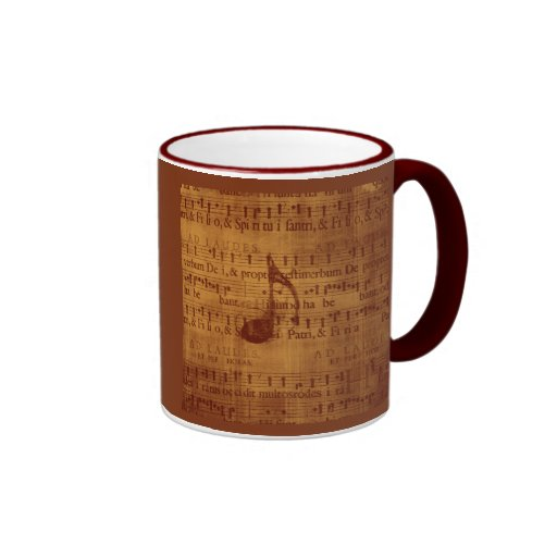 Musical Note Coffee Mug