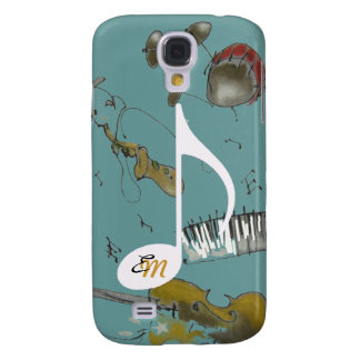 musical note & music instruments