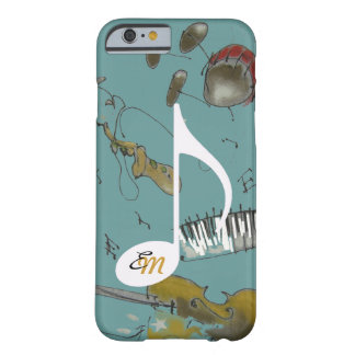 musical note & music instruments barely there iPhone 6 case