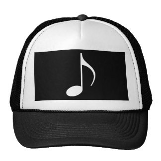 Musical Note on any color background Trucker Hat