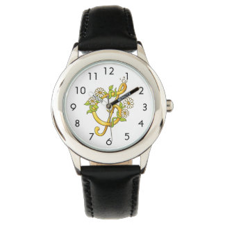 Musical note Stainless Steel Black Watch
