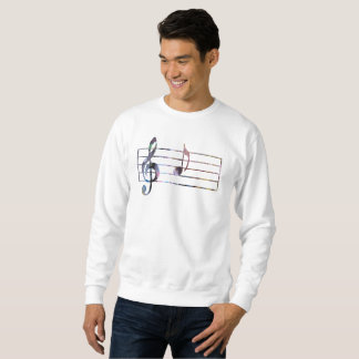 Musical Note Sweatshirt