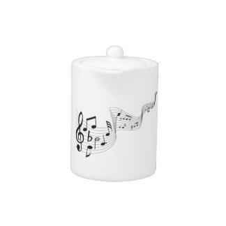 Musical Note Tea Pot