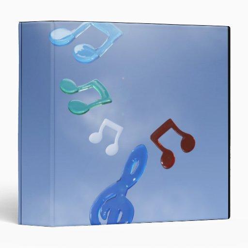 Musical Notes 3 Binders