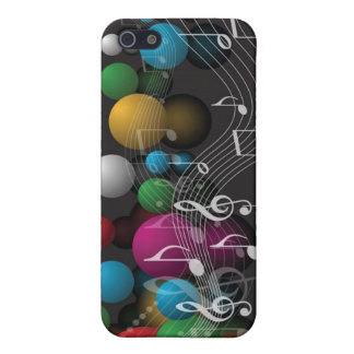 Musical Notes and Balloons iPhone 5/5S Case