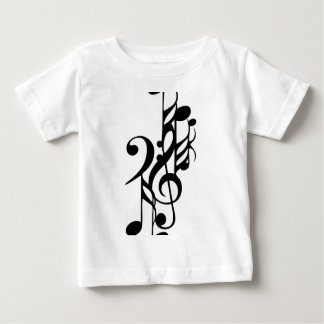 Musical_notes Baby T-Shirt