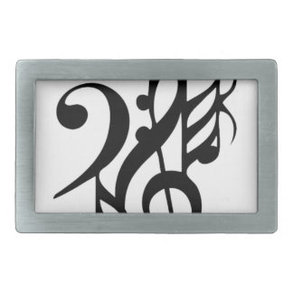 Musical_notes Belt Buckle