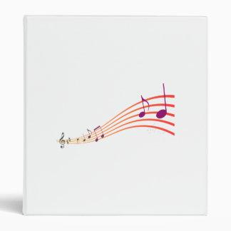 Musical Notes Binder