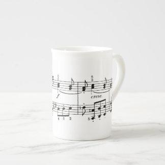 Musical Notes China Mug