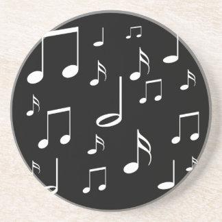 musical notes coaster