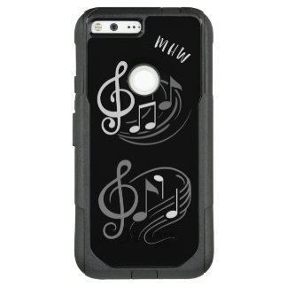 Musical Notes custom monogram phone cases