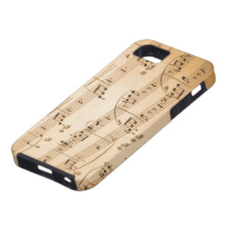 Musical Notes iPhone 5 Case