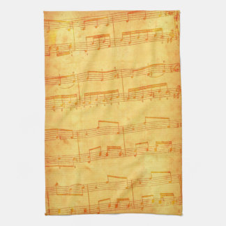 """""""Musical Notes"""" Kitchen Towel"""