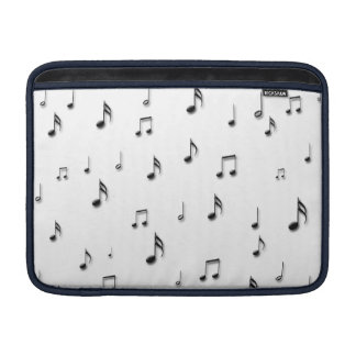 Musical Notes MacBook Sleeve