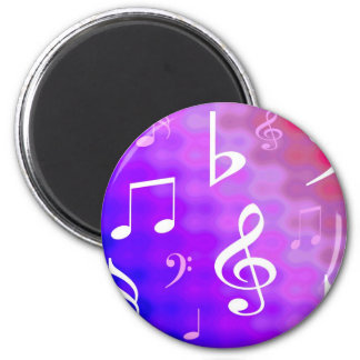 Musical notes magnets