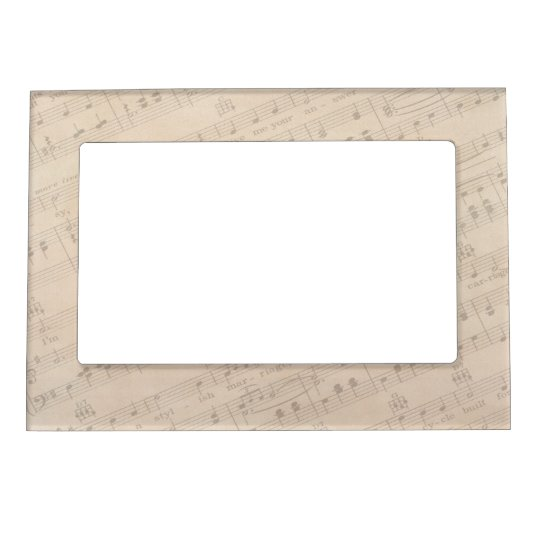Musical Notes Magnetic Frame