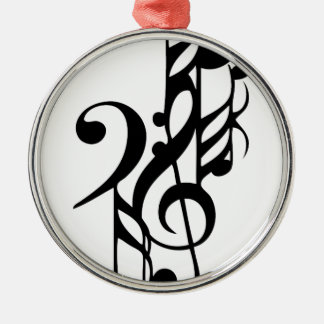 Musical_notes Metal Ornament